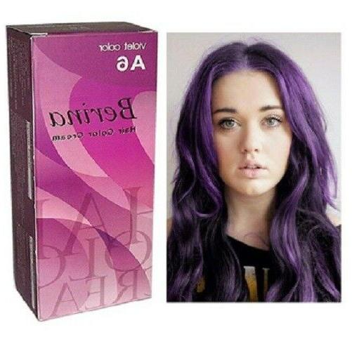 Berina Professional Hair Dye Color Cream New Modern Style