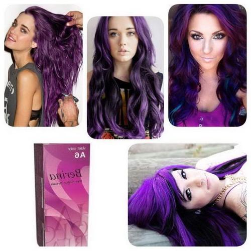 Pack of BERINA Cream Hair Color 60 G. Super Permanent Fashion Unisex
