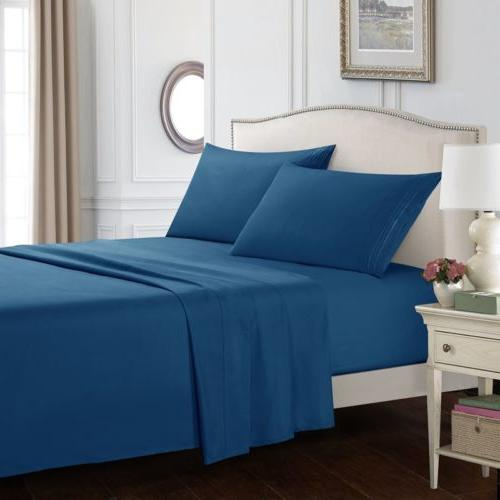 queen sheet set deep pocket bed sheets