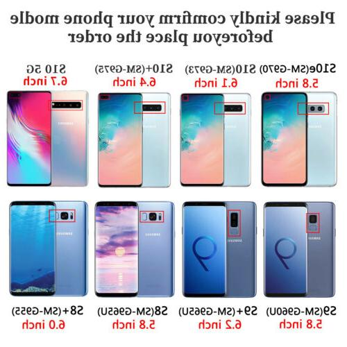 For Samsung Galaxy S9 Plus Phone Soft Rubber Cover