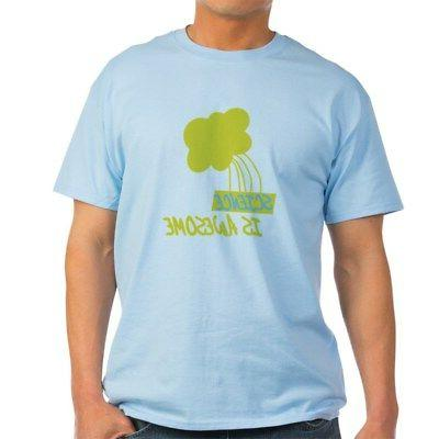 science is awesome 2 t shirt 100