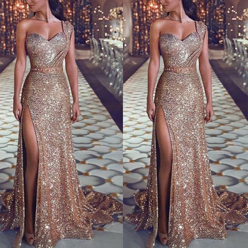 Sexy Womens Wedding Cocktail Formal Long Maxi Dress Ball Gown