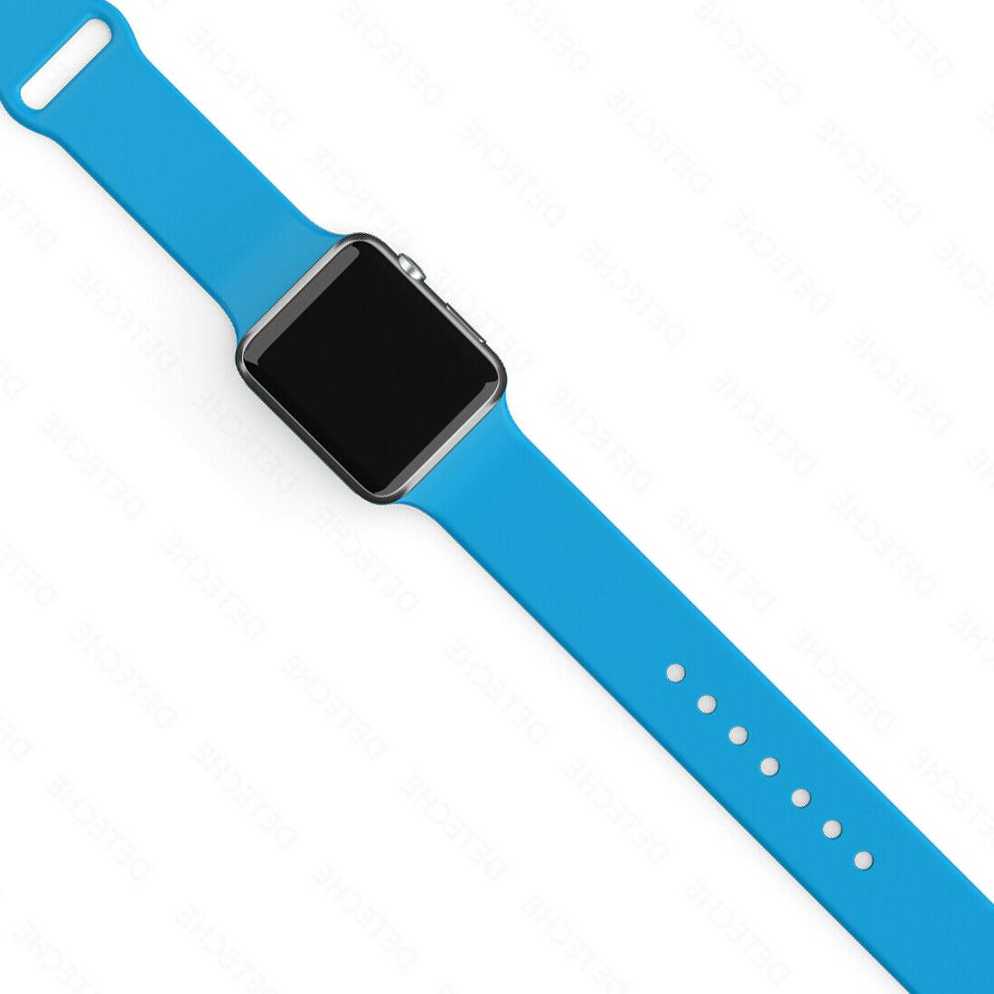 Silicone Strap Apple Watch Sports 38/40/42/44mm