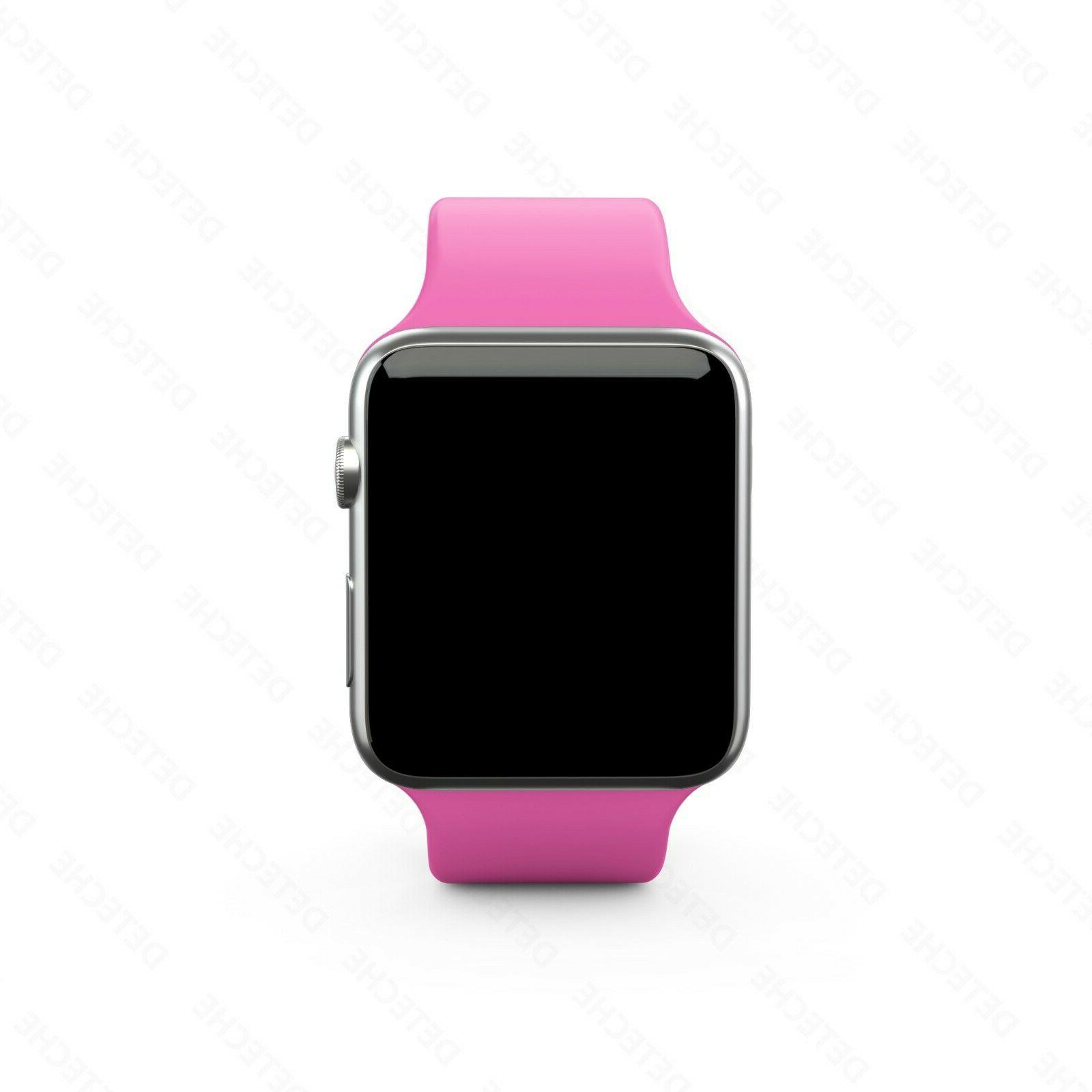Silicone Strap for Apple Sports 38/40/42/44mm