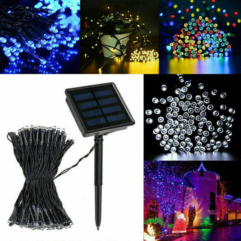 Solar String Light 200LED Christmas Outdoor