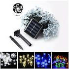 Solar Powered Flower String Lights For Outdoor Indoor Garden