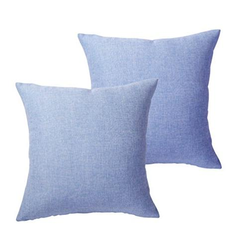 MRNIU Set Throw Cushions Home Decorative Soft Pillow Case Covers with for Chair Decor
