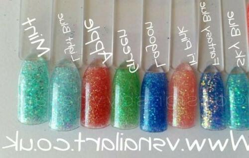 Ultra Bright iridescent Glitter multi