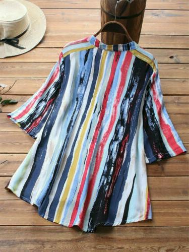 US V Loose Baggy Tops Tunic T Shirts Plus Size