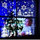 Window Decor Wall Tattoo Stars Winter Landscape Window Decor