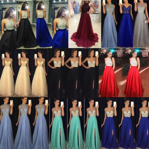 Women Evening Party Ball Prom Gown