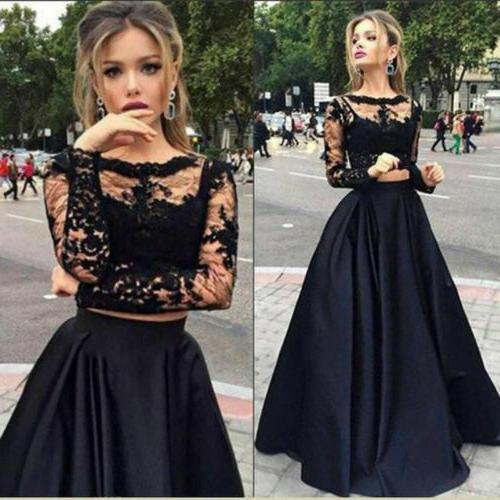 Women Bridesmaid Evening Party Ball Prom Gown Long Dress