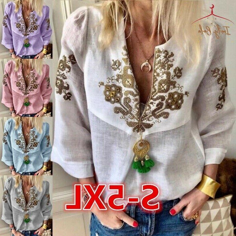 women s floral printed blouses pure color