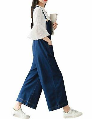 Yeokou Women's Loose Baggy Wide Leg Jumpsuit