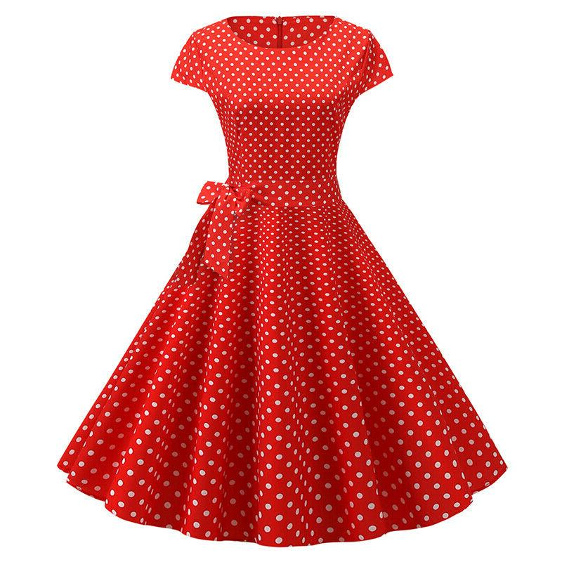 Womens 50s Vintage Cocktail Party Dress