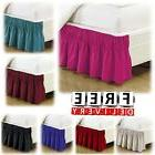Wrap Around Bed Skirt Dust Ruffle Queen King Twin Full Size