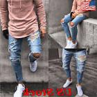 zipper design us men s ripped jeans