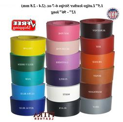 latigo leather strips 1 5 inch 6