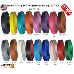 Leather Strips 5/8 Inch, 6 -7 oz - Great for Belts, Collars,