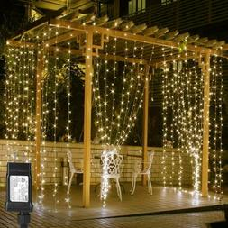 LE 306 LED Curtain Lights 9.8 x ft Fairy String for Bedroom