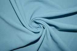 Light Blue #122 Bullet Double Knit Stretch Poly Lycra Spande