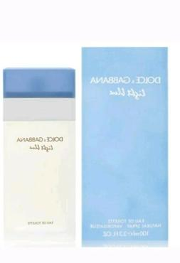 LIGHT BLUE by DOLCE & GABBANA for Women 3.3oz 100ml EDT Spra