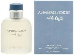 LIGHT BLUE BY DOLCE & GABBANA FOR MEN 4.2 OZ EAU DE TOILETTE