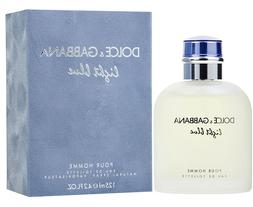 LIGHT BLUE DOLCE & GABBANA 4.2 oz - 125 ml Men's Eau de Toil