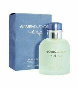 LIGHT BLUE Dolce and Gabbana pour homme 2.5 oz Eau de Toilet