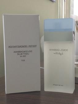 DOLCE GABBANA LIGHT BLUE 3.3 oz WOMEN'S EDT 100ML 3.4 NEW