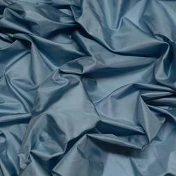 "Light Blue Tissue Taffeta, 100% Silk Fabric, 44"" Wide, By Th"