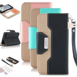 Leather Flip Wallet Stand Phone Case Cover For iPhone 11 Pro