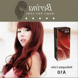 Pack of 1 Box Berina Mahogany Mahokany Hair Dye A10 Hair Col