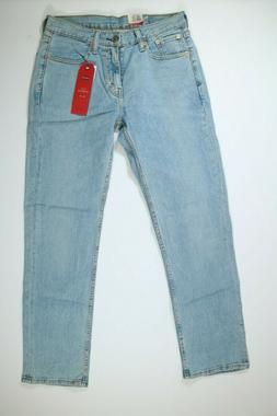 mens levis 514 straight fit regular light