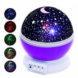 Bar Indoor Night Lights Scientific starry sky LED Projector