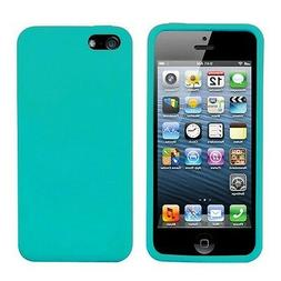 New Light Blue Soft Silicone Case Cover Skin for Apple iPhon