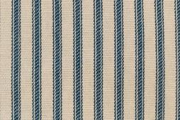 NEW Light BLUE Striped Bed Ticking Fabric - Material Sold by
