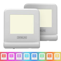 LED Night Lights with Smart Sensor - Pack of 2 Plug In Night