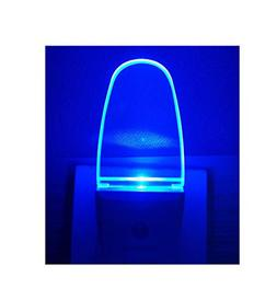 Plug in Light Sensor LED Blue Night Light for Bathroom, Kitc