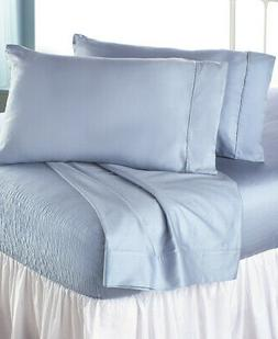 Queen Cooling DuPont Bed Tite Sheet Set - Light Blue