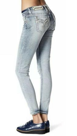 Rock Revival Rona Ankle Skinny Stretch Jeans Women's Size