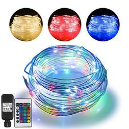 66ft Led Rope Lights Outdoor String Lights with 200 LEDs,16