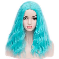 BERON Shoulder Length Curly Wig Charming Women Girls Beach W