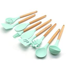 Silicone Kitchen Utensils Set Nonstick Cooking Tools With Na