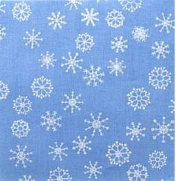 Snowflakes Light Blue - My Quilt Shop quilt fabric 100% cott