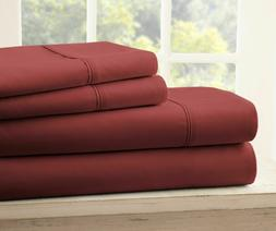 ROYAL COLLECTION 1800 SUPER SOFT WRINKLE FREE SHEET SET WITH