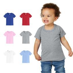 toddler t shirt basic cotton blank solid