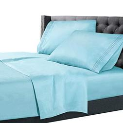 Nestl Bedding 3 Piece Sheet Set - 1800 Deep Pocket Bed Sheet