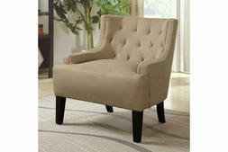Upholstered Accent Chair Modern Mid-Century Tufted Club Chai