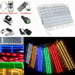 US 5050 SMD 3 LED Module Lights STORE FRONT WINDOW Sign Lamp